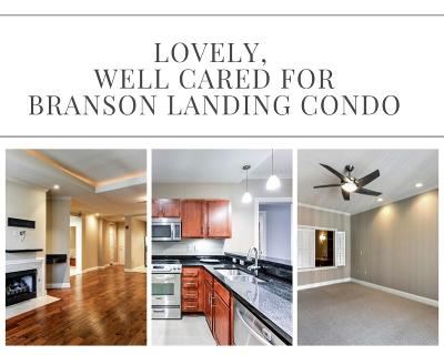 Branson Landing, Branson Landing/The Boardwalk, Branson Landing/The Promenade Condo/Townhouse For Sale: 10404 Branson Landing Boulevard #404