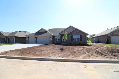 Nixa Single Family Home For Sale: 612 North Eagle Park Drive #Lot 10