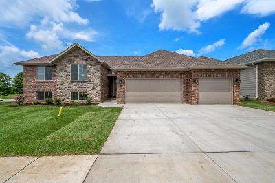 Nixa MO Single Family Home For Sale: $312,977