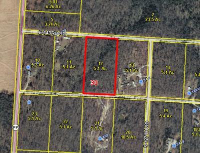Bolivar Residential Lots & Land For Sale: Lot 12 Oak Grove Estates