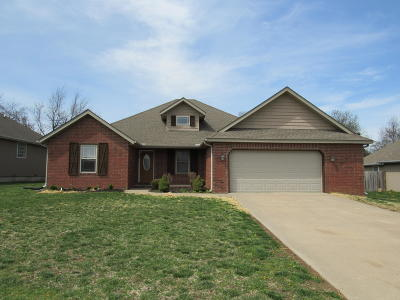 Willard Single Family Home For Sale: 207 North Finch Court