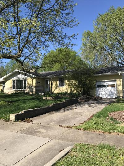 Springfield Single Family Home For Sale: 1411 North Rogers Avenue