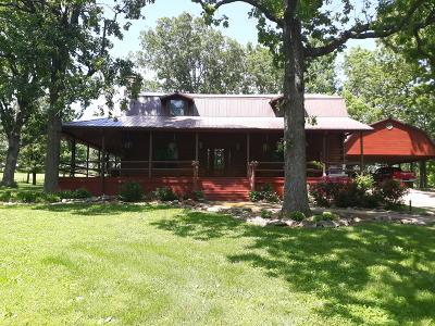 Ava Single Family Home For Sale: 5/Rr 4 Box 1054