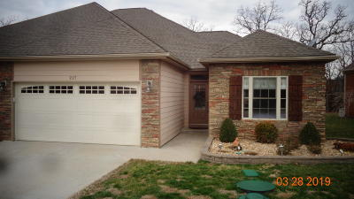 Branson West Single Family Home For Sale: 227 Cedar Glade Drive