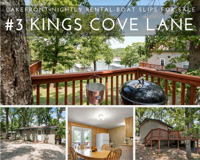 Reeds Spring Single Family Home For Sale: 3 Kings Cove Lane
