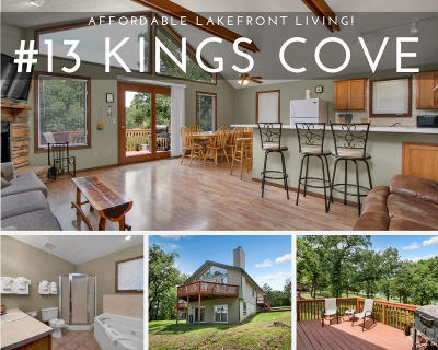 Reeds Spring Single Family Home For Sale: 13 Kings Cove Lane