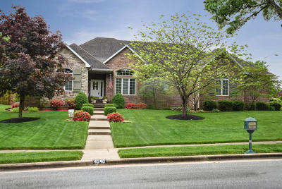 Springfield Single Family Home For Sale: 4340 East Cross Timbers Street