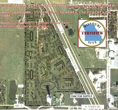 Bolivar Residential Lots & Land For Sale: 1700 South Wommack Avenue