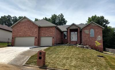 Nixa MO Single Family Home For Sale: $330,000
