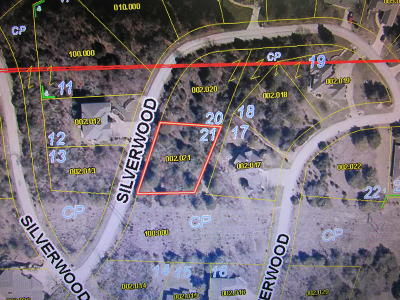 Branson West Residential Lots & Land For Sale: 501 Silverwood - Lot 21 Place
