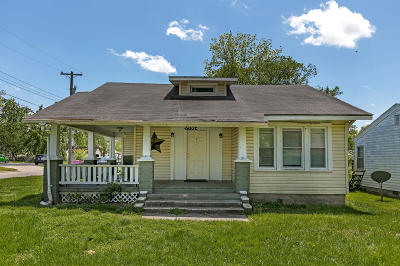 Springfield MO Single Family Home For Sale: $85,000