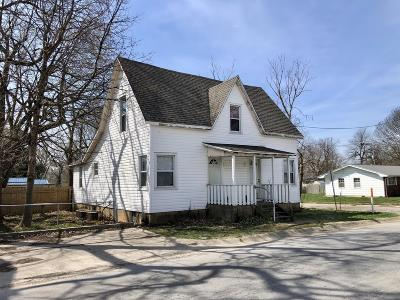 Webster County Multi Family Home For Sale: 108 West Maple Street