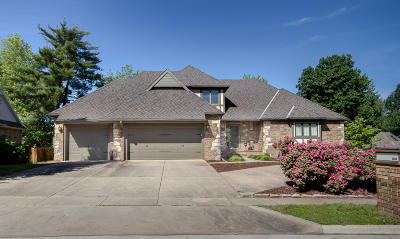 Springfield MO Single Family Home For Sale: $424,900