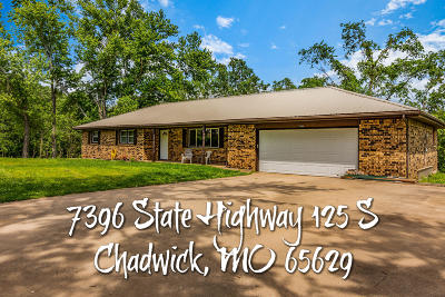 Christian County Single Family Home For Sale: 7396 State Highway 125 S