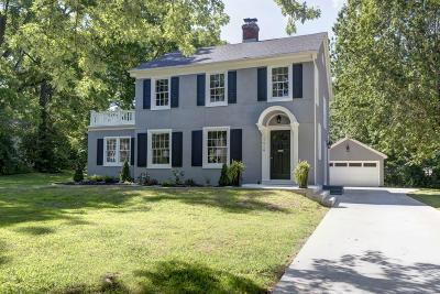 Springfield Single Family Home For Sale: 1510 East Walnut Street