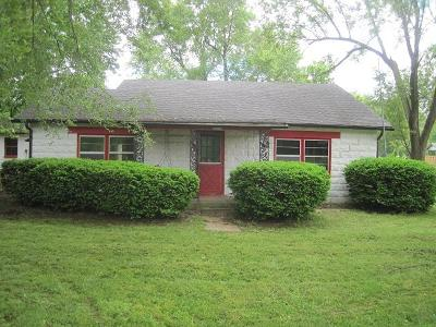 Springfield MO Single Family Home For Sale: $50,000