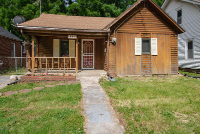 Springfield MO Single Family Home For Sale: $45,000