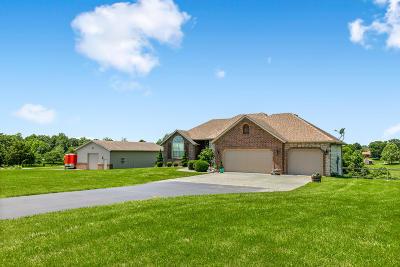 Nixa MO Single Family Home For Sale: $425,000