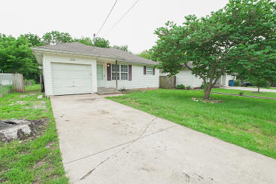 Springfield MO Single Family Home For Sale: $78,900