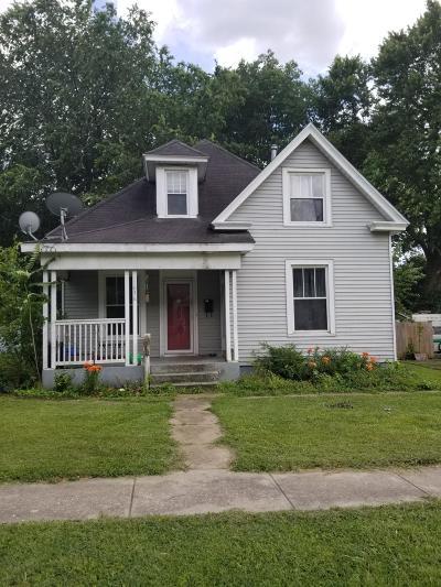 Springfield Single Family Home For Sale: 1036 West Hamilton Street