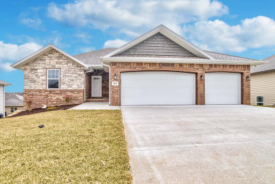 Nixa Single Family Home For Sale: 1660 North Old Castle Road #Lot 43