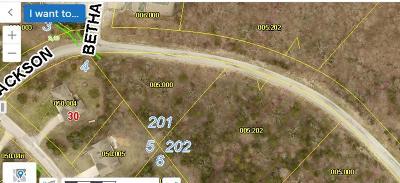 Branson West Residential Lots & Land For Sale: Lot 201 Jackson Lane