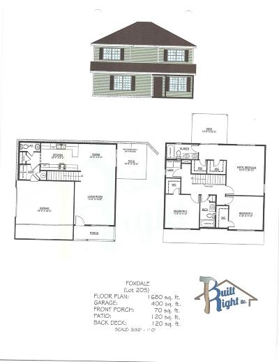 Branson West Single Family Home For Sale: Tbd Jackson Lot 205 Lane