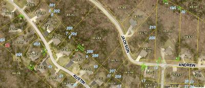 Branson West Residential Lots & Land For Sale: Lot 205 Jackson Lane