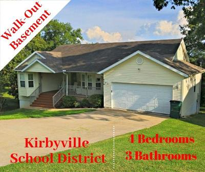 Kirbyville Single Family Home For Sale: 210 Mary Lane