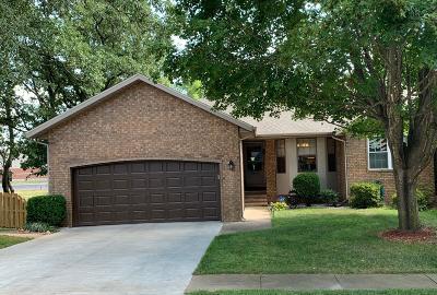 Nixa Half Duplex For Sale: 1276 West Bridgewood Place