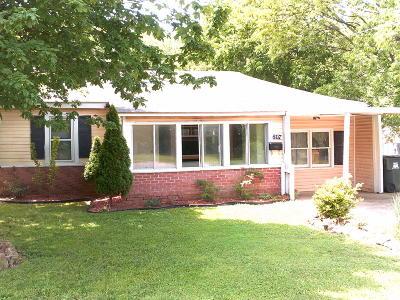 Aurora Single Family Home For Sale: 807 South Lincoln Avenue