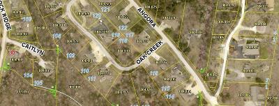 Branson West Residential Lots & Land For Sale: Lot 118 Oak Creek Circle