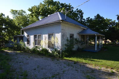 Birch Tree MO Single Family Home For Sale: $49,900