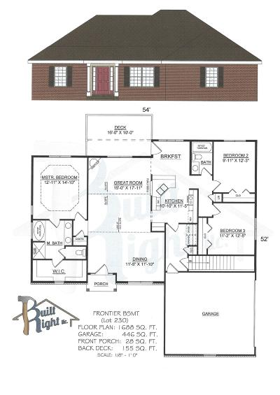 Branson West, Reeds Spring Single Family Home For Sale: Tbd Bethany (Lot 230) Lane