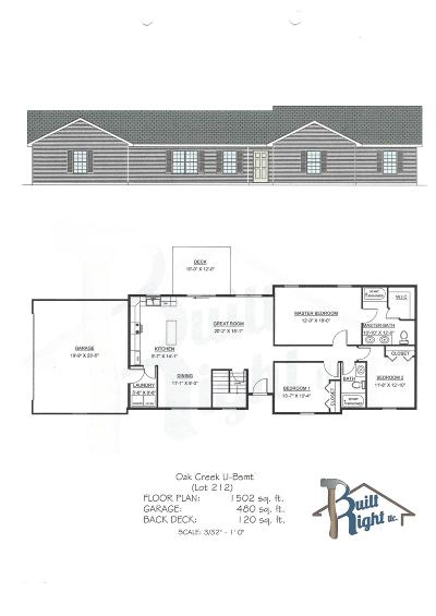 Stone County Single Family Home For Sale: Tbd Jackson (Lot 212) Lane