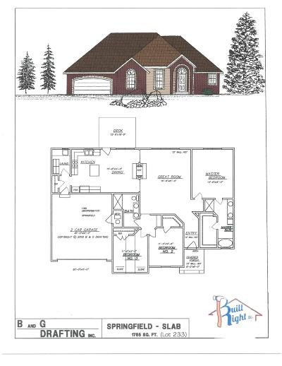 Branson West Single Family Home For Sale: Tbd Bethany (Lot 233) Lane