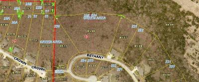 Branson Residential Lots & Land For Sale: Lot 225 Bethany Lane