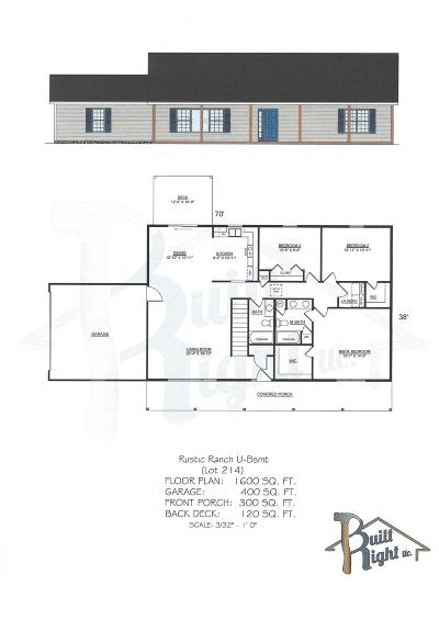 Branson West Single Family Home For Sale: Tbd Jackson (Lot 214) Lane