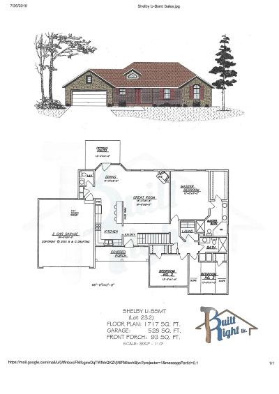 Branson West, Reeds Spring Single Family Home For Sale: Tbd Bethany (Lot 232) Lane
