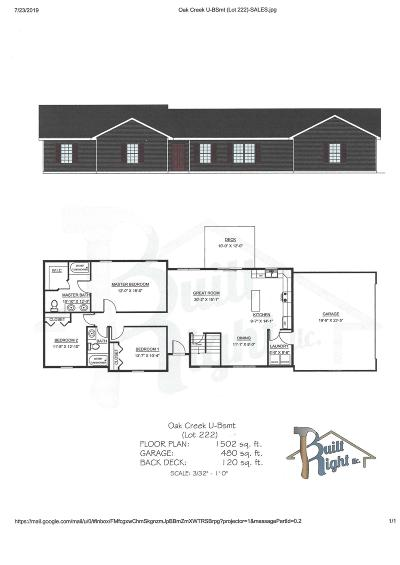 Branson West Single Family Home For Sale: Tbd Bethany (Lot 222) Lane