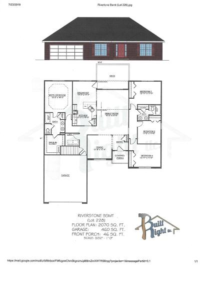 Branson West, Reeds Spring Single Family Home For Sale: Tbd Bethany (Lot 228) Lane