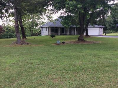 Nixa Single Family Home For Sale: 1389 Oak Ridge Road