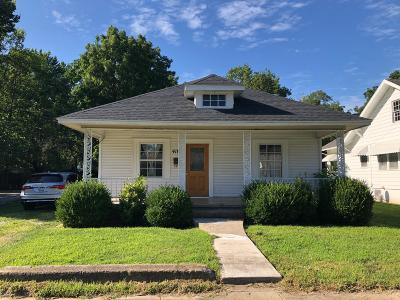 Springfield MO Single Family Home For Sale: $77,500