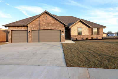 Springfield Single Family Home For Sale: 3496 South Suburban Avenue #Lot 46