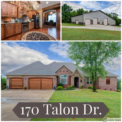 Christian County Single Family Home For Sale: 170 Talon Trail