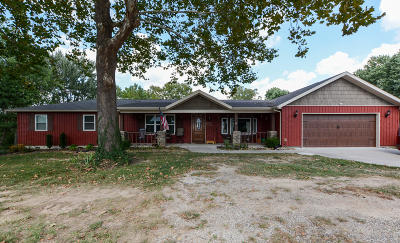 Christian County Single Family Home For Sale: 1412 South 11th Street