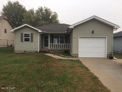 Jasper County Single Family Home For Sale: 613 Valley View Drive