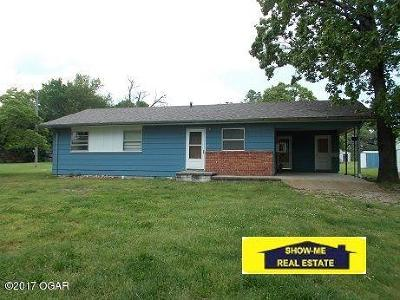 McDonald County Single Family Home For Sale: 467 Bunch Road