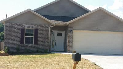 Jasper County Single Family Home For Sale: 2506 S Tyler Avenue