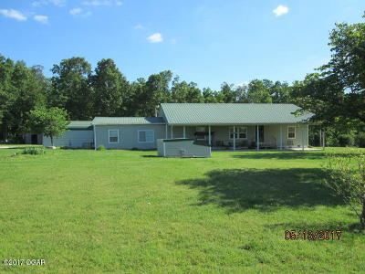 McDonald County Single Family Home For Sale: 1190 New Bethel Road